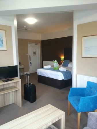 The Grand Atlantic Hotel: EXCELLENT SIZE GUEST ROOM