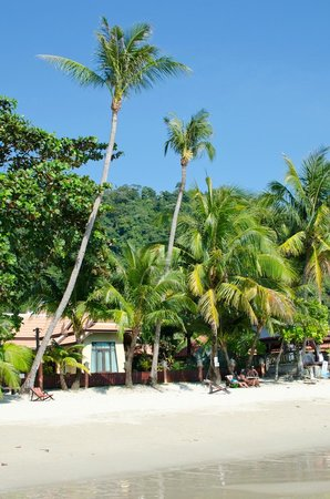Koh Chang Paradise Resort & Spa : Resort from the beach
