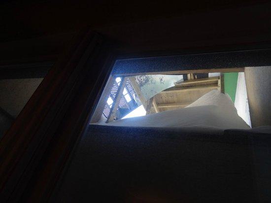 Hotel Manoir Victoria : room 101 window