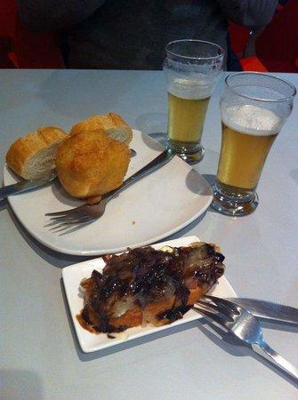 Cafeteria Bar El Camino : Buen pincho