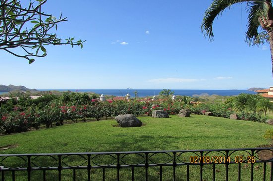 Reserva Conchal Beach Resort, Golf & Spa: veranda
