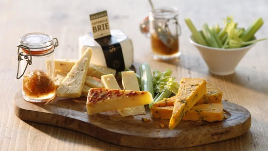 Stresa Kitchen - Coventry: Local Cheeses