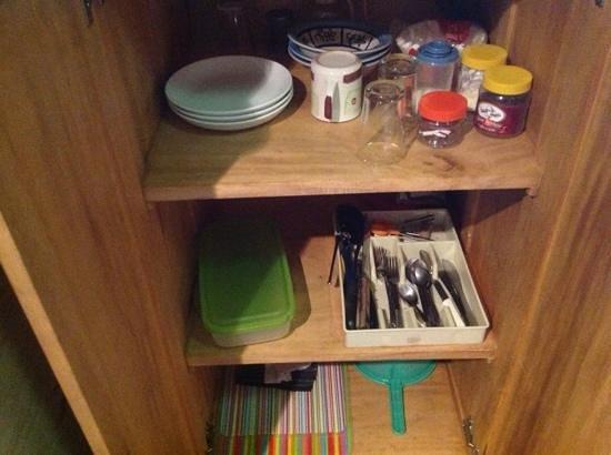Hotel El Mono Feliz : küchenuntensilien