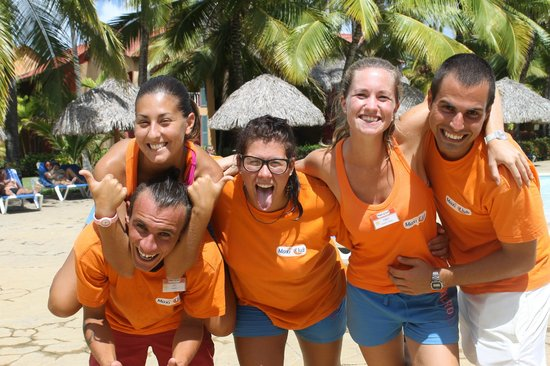 Caribe Club Princess Beach Resort & Spa : la formidable équipe d'animation  francophone