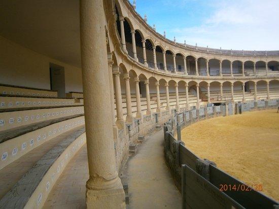 Plaza de toros de Ronda: dentro