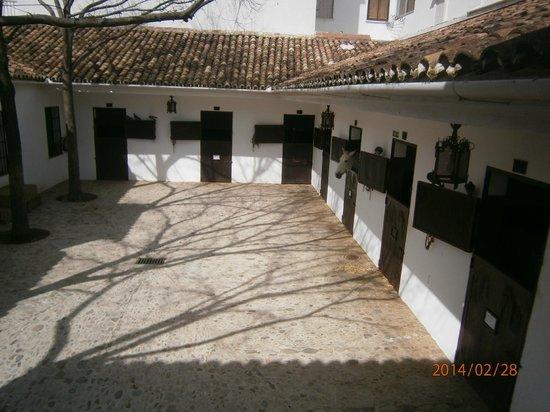 Plaza de toros de Ronda: parte ecuestre