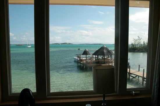 Augusta Bay Bahamas : View from window in room 208