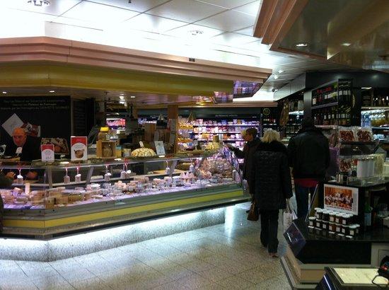 Galeries Lafayette Gourmet : Loja de queijos