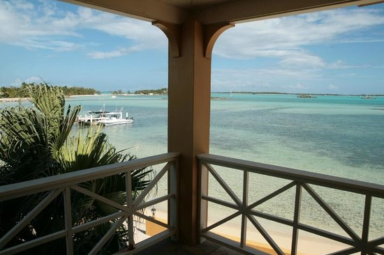 Augusta Bay Bahamas : View from balcony