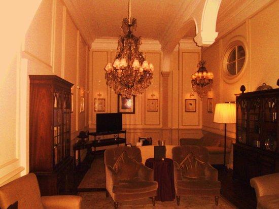 Hotel De Tuilerieen : lounge/zitruimte