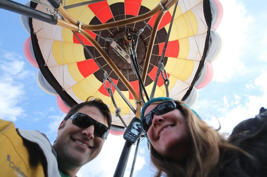 Rocky Mountain Hot Air: Up, up and away!