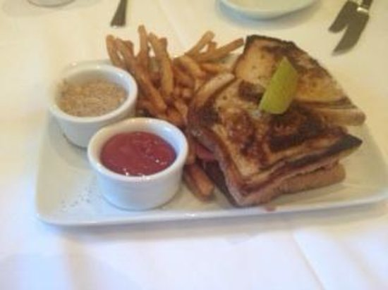 Ruth's Chris Steak House - Edmonton: Rueben Sandwich
