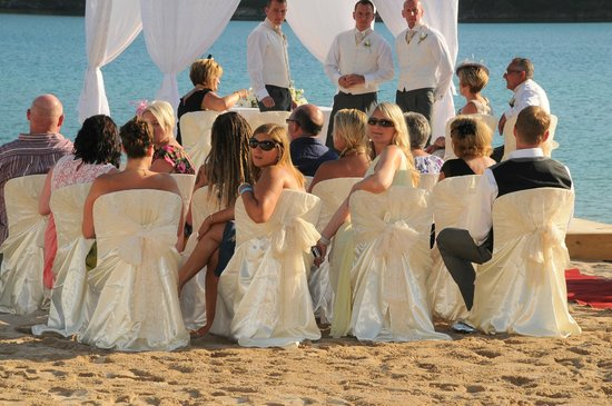 Plage d'Oludeniz (Lagon bleu) : ceremony by the blue lagoon