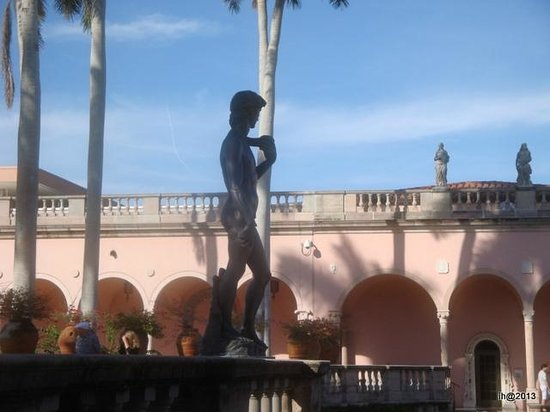 The Ringling: Museum inside courtyard