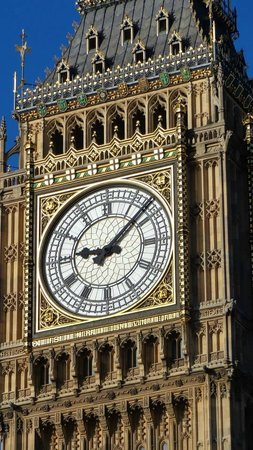 Houses of Parliament/Westminster-Palast: Big Ben