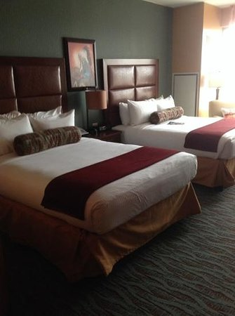 Shoshone Bannock Hotel & Event Center: very nice rooms.