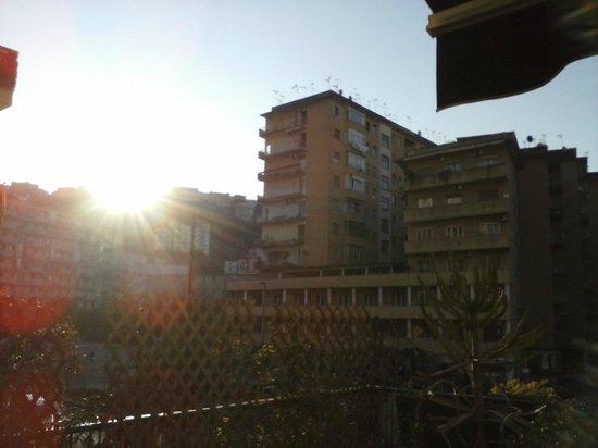 Hotel Cesare Augusto : sole al risveglio