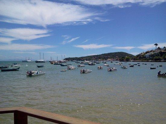 Praia Canto: Praia do Canto mirando hacia Orla Bardot