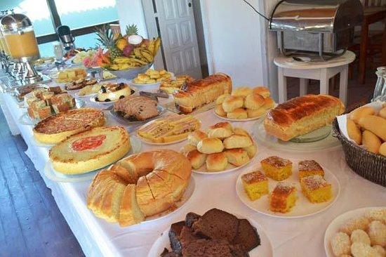 Pousada Borakay: Maravilhoso Café da manhã