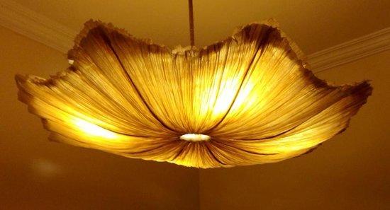 Casa De Goa Boutique Resort : lovely room lamp