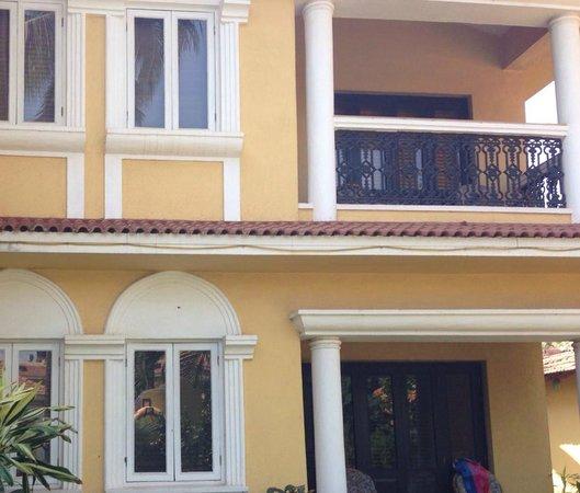 Casa De Goa Boutique Resort: upper rooms