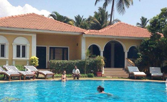 Casa De Goa Boutique Resort : entrance