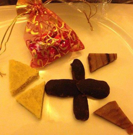 Casa De Goa Boutique Resort : sweets to greet you