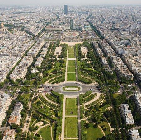 Hotel Eber: Environnement - Champ de Mars (Vue aérienne)