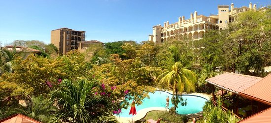 Hotel Luamey: View from top suite
