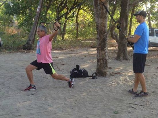 Nick Holt Fitness: A bit of fun on the Beach In Costa rica