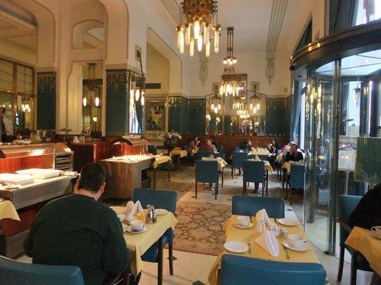 Hotel Paris Prague: Sarah Berhardt restaurant