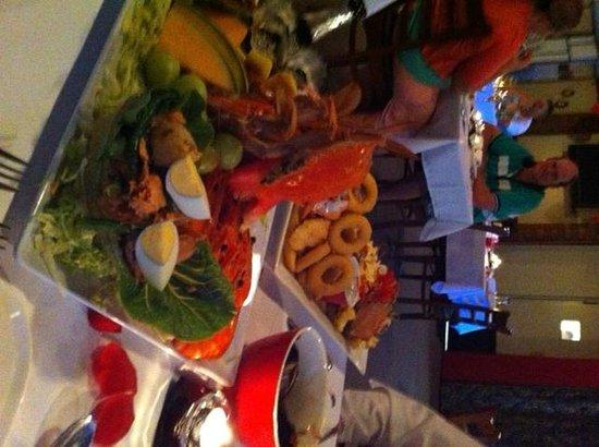Sweet Assiette Restaurant: My Seafood Platter