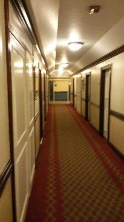 The Jamaica Pegasus Hotel: hallway