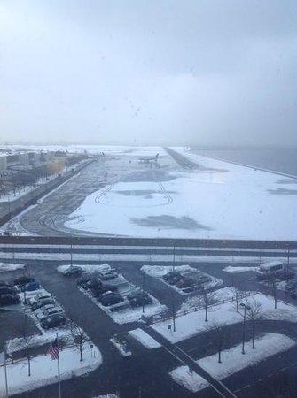 Hyatt Regency Boston Harbor : view from our room