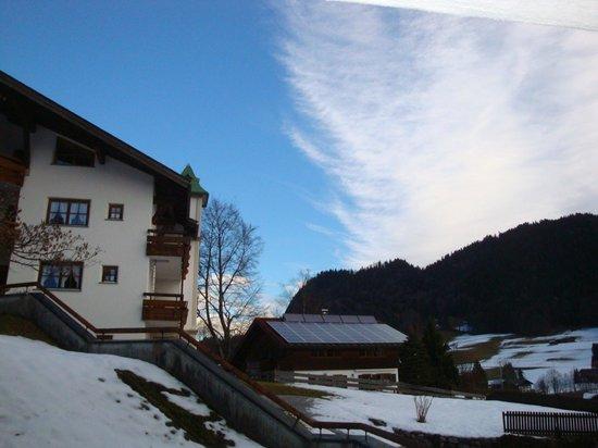 Alpenhotel Oberstdorf: Blick aus dem Zimmer