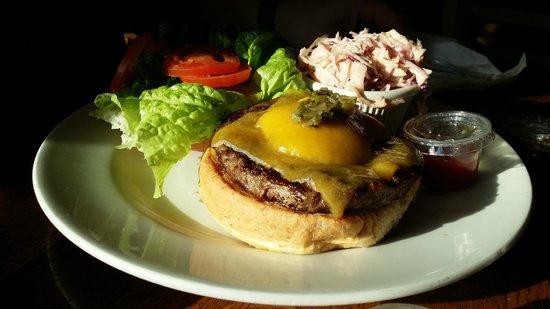 Mosquito Cafe: Jalapeno Burger