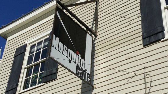 Mosquito Cafe: Building Front