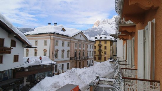 Concordia Parc Hotel: View of Corso from my balcony