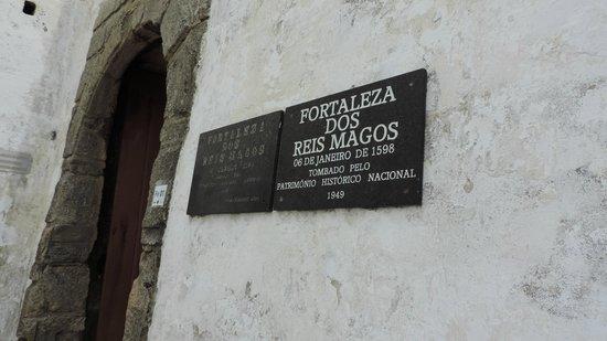 Reis Magos Fortress: carteles descriptivos