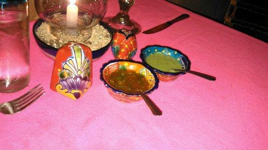Maria Jimenez Restaurante Mexicano: Salsas