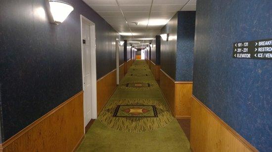 Super 8 Baldwin: Hallway