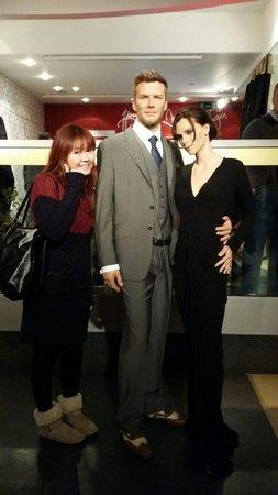Madame Tussauds London: With my idols!