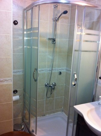 Mevlana Hotel: Great shower!