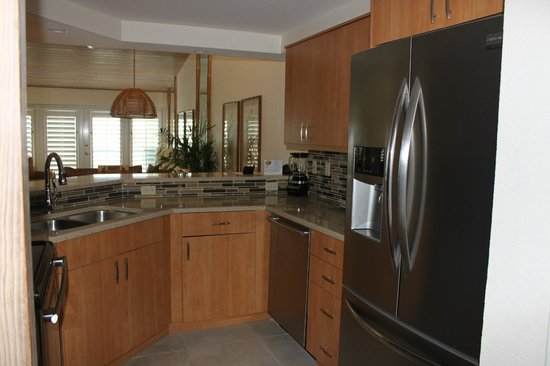The Galleon Resort And Marina : Partial Kitchen View in Two Bed/Two Bath