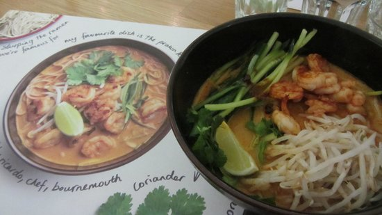 Wagamama : same as the place mat