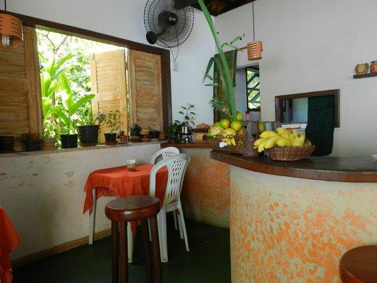 Papoula Culinaria Artesanal: interior de Papoula