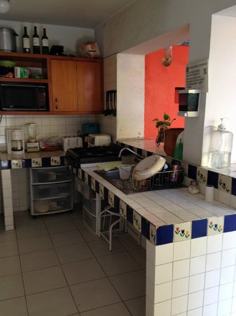 Hostal de Maria : Kitchen area