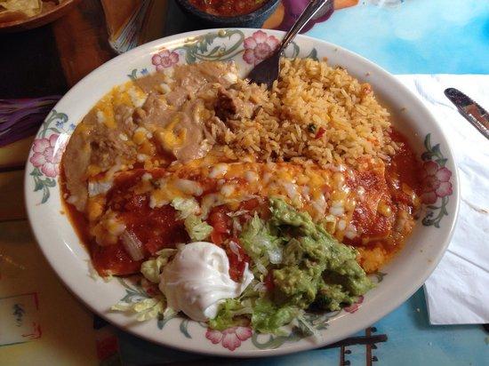 Fiesta Mexicana: Gigantic Beef Burrito