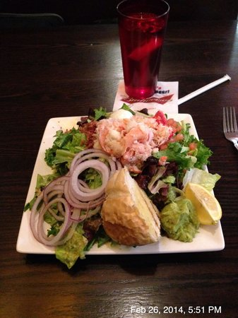 King crab salad at Norton Sound Seafood House