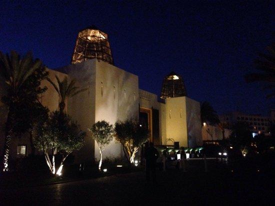 Sofitel Agadir Royal Bay Resort : Entrée vue de l'extérieur